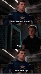 You've got a suit